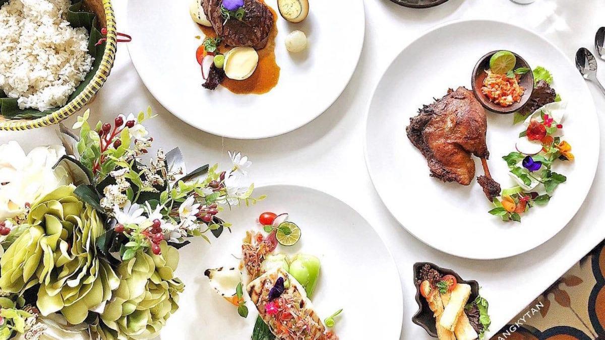 Hidangan Tradisional di Restoran Rantang Ibu Dengan Citarasa Modern