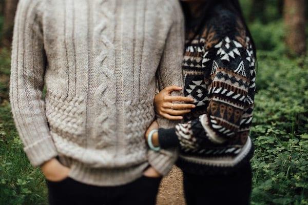 sweater buatan sendiri