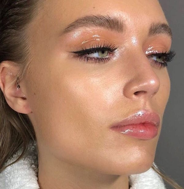 make up glossy