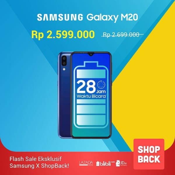 flash sale samsung galaxy m20