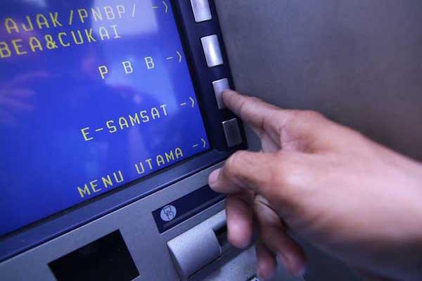 cara bayar pajak motor online di atm