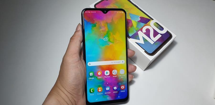 Review Samsung Galaxy M20, Spesifikasi dan Harga