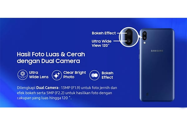 dual camera samsung galaxy m10