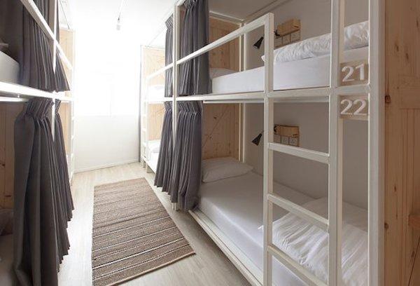 bunkbed hostel di bangkok