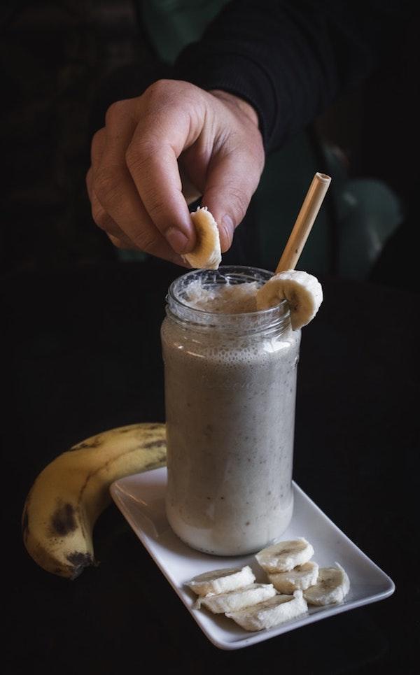 jus pisang menu sahur sehat