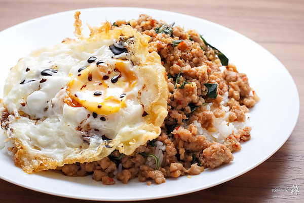 masakan tradisional thailand phat kaphra