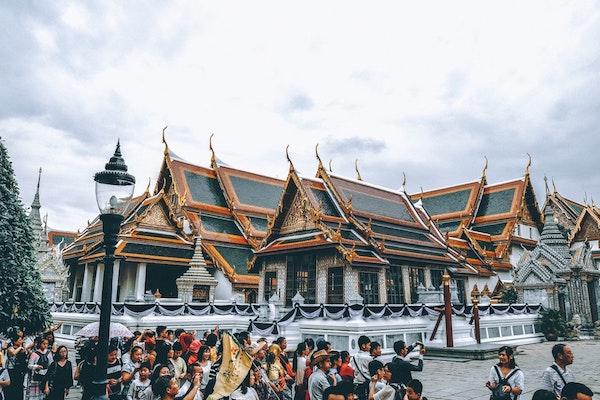 penipuan di grand palace bangkok
