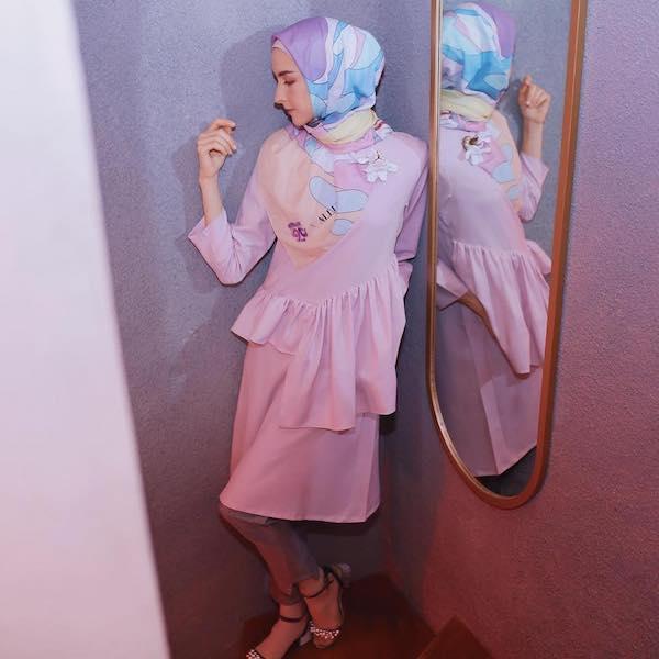 hijab print