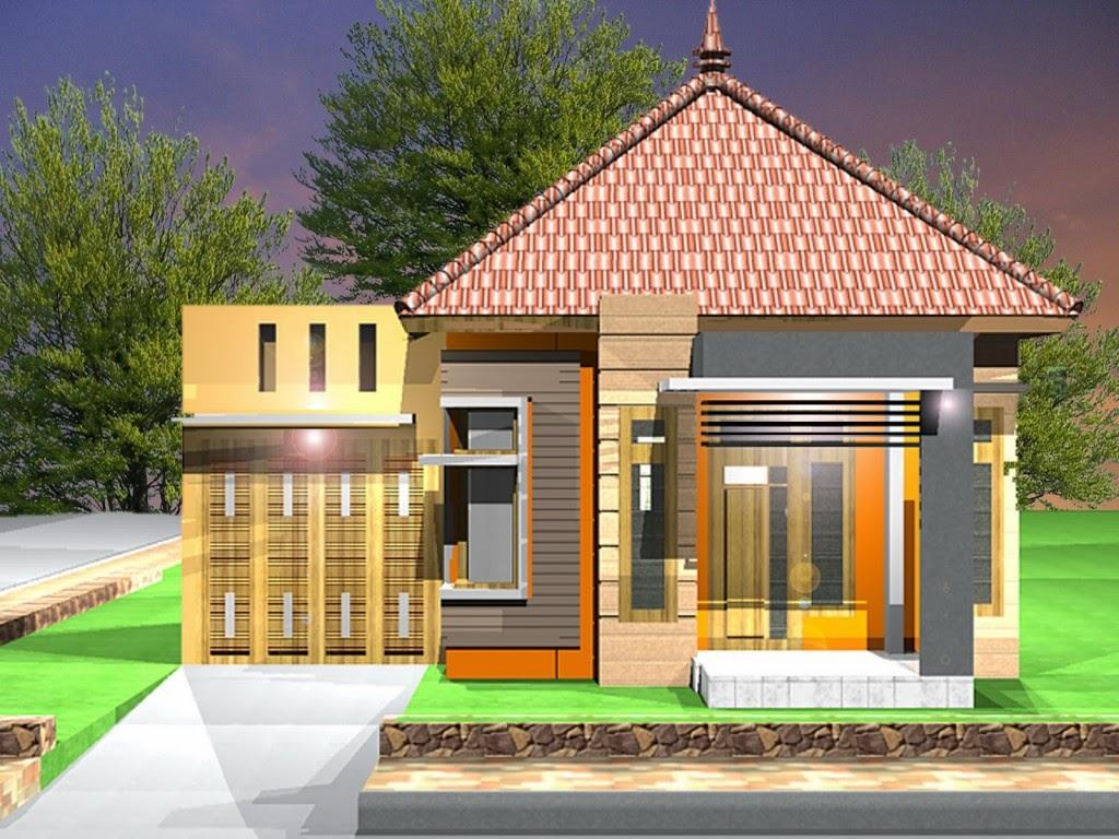rumah minimalis atap joglo