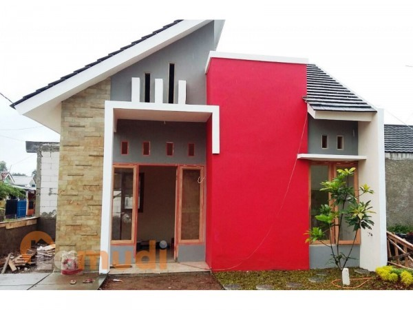 rumah minimalis atap kombinasi