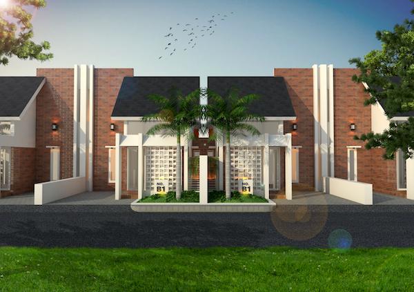 desain rumah minimalis batu ekspos