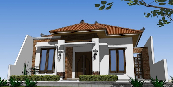 desain rumah minimalis tradisional