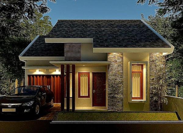 Desain Interior Rumah Panggung Minimalis  12 contoh tampilan depan desain rumah minimalis bergaya modern