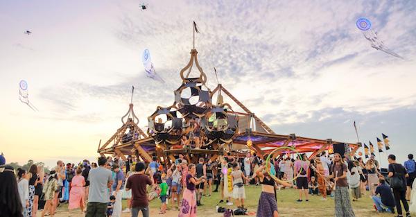 wonderfruit music and art festival thailand