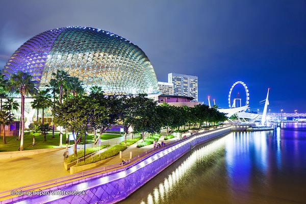 esplenade singapur