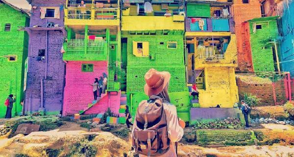 kampung warna warni bulak