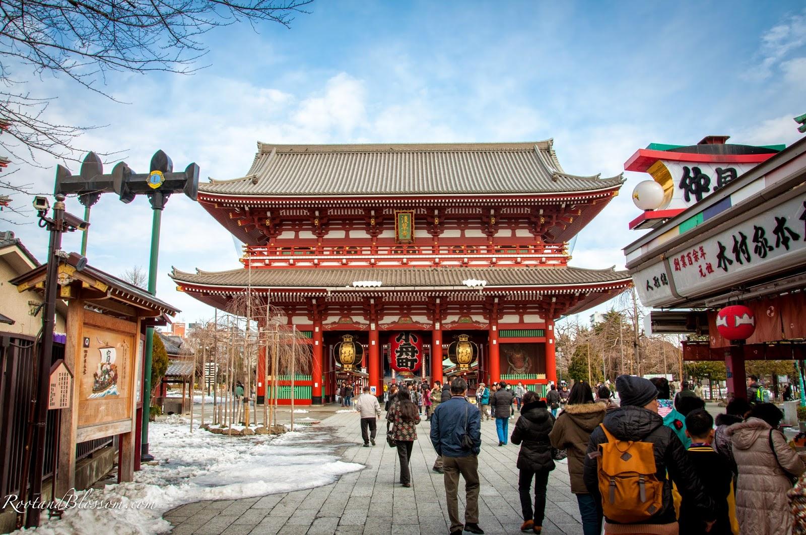 sensoji Tempat Wisata di Tokyo