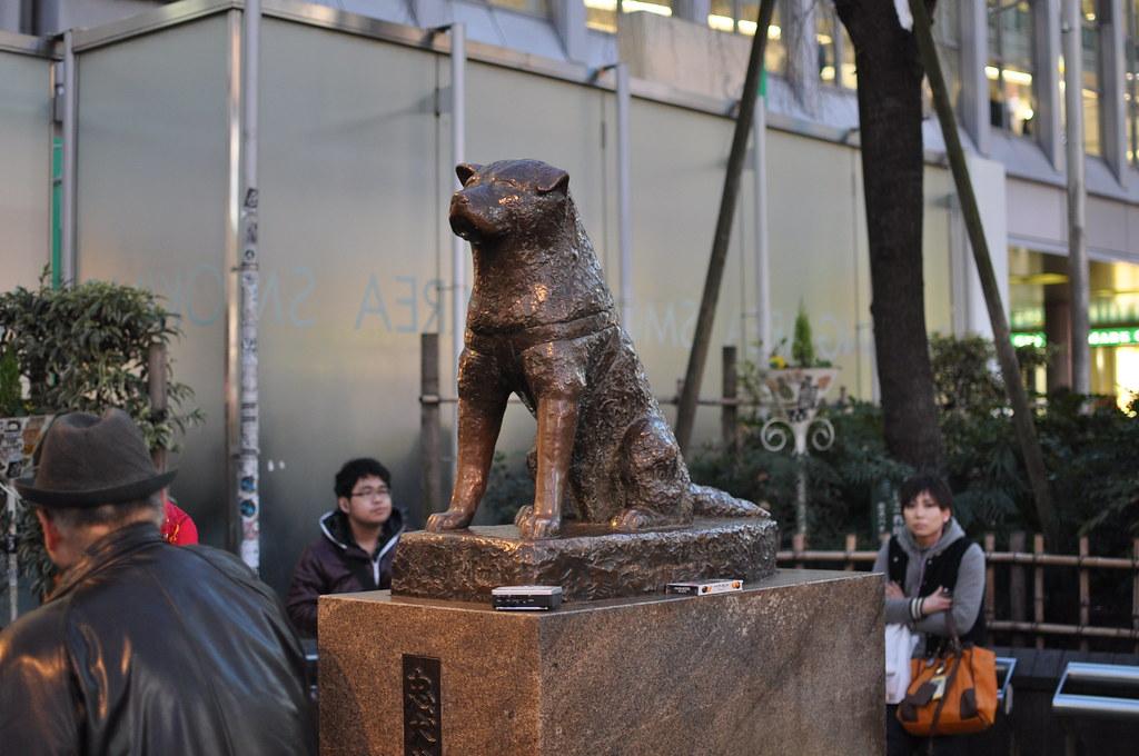 patung hachiko jepang