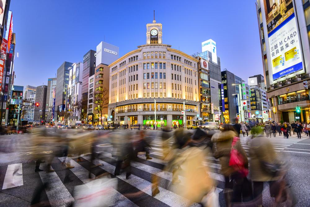 ginza tokyp