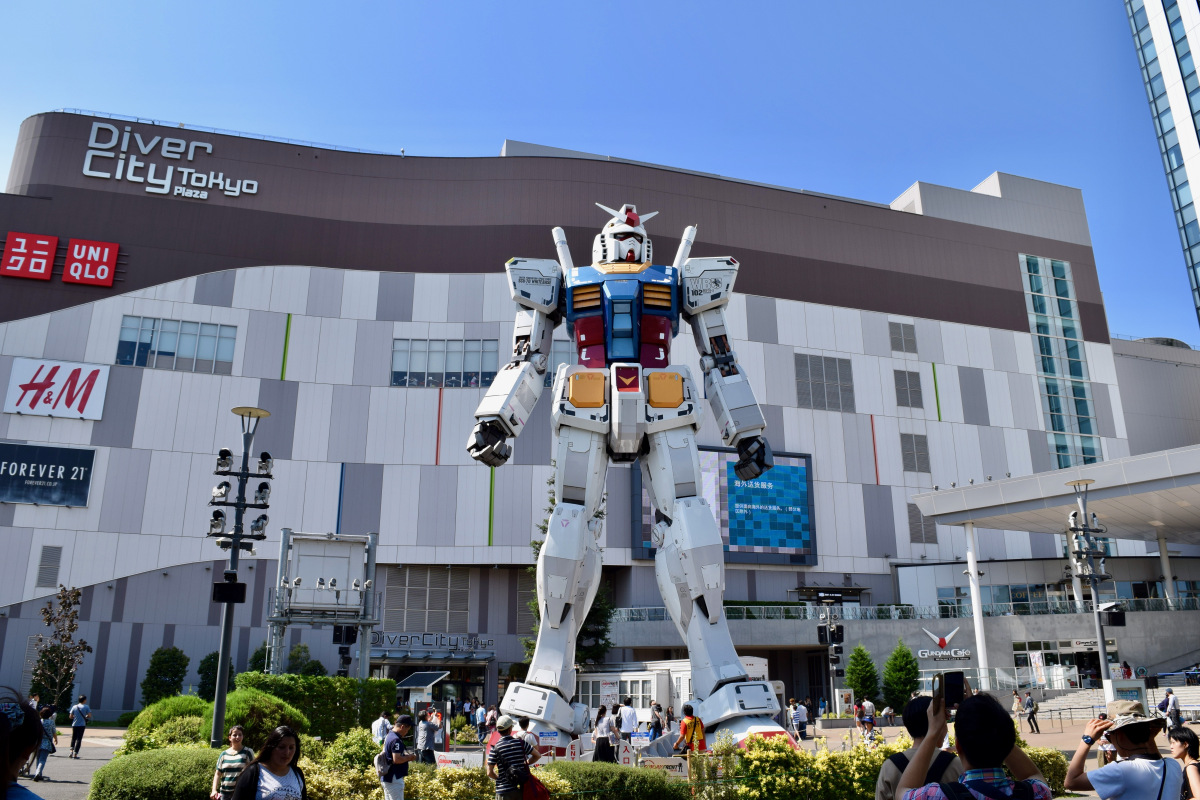 gundam museum tokyo