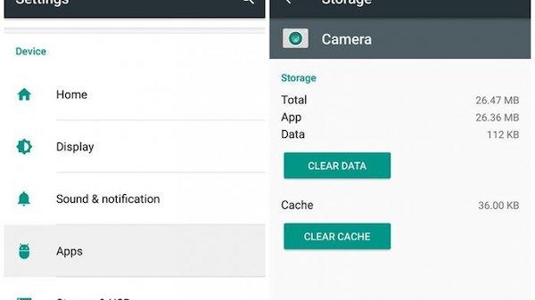 hapus cache android