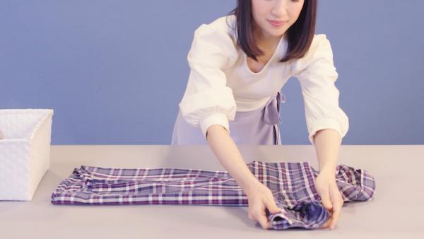 cara melipat kemeja