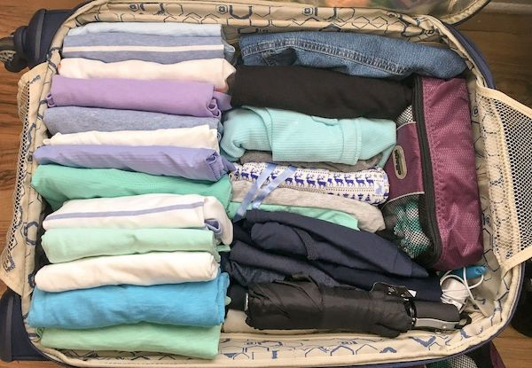 cara menyimpan pakaian