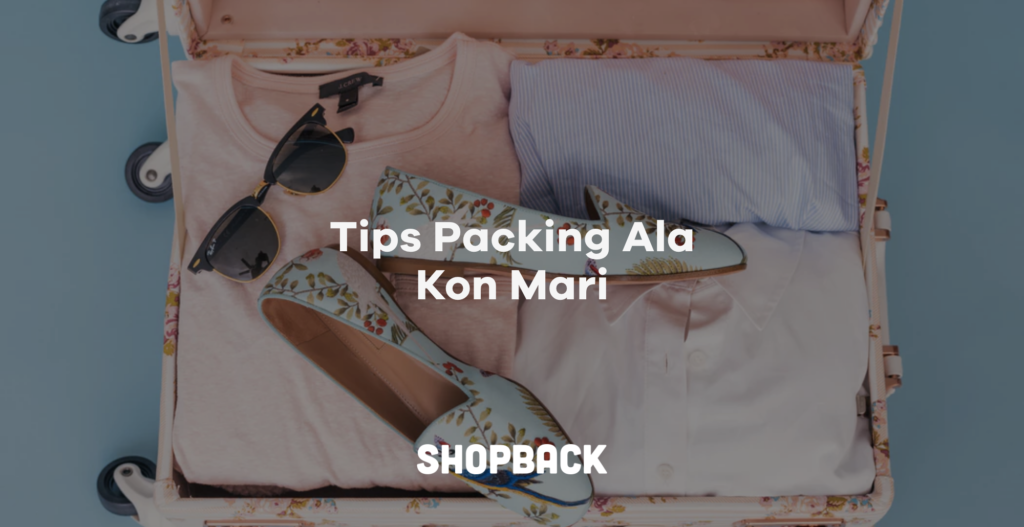 cara packing barang di koper