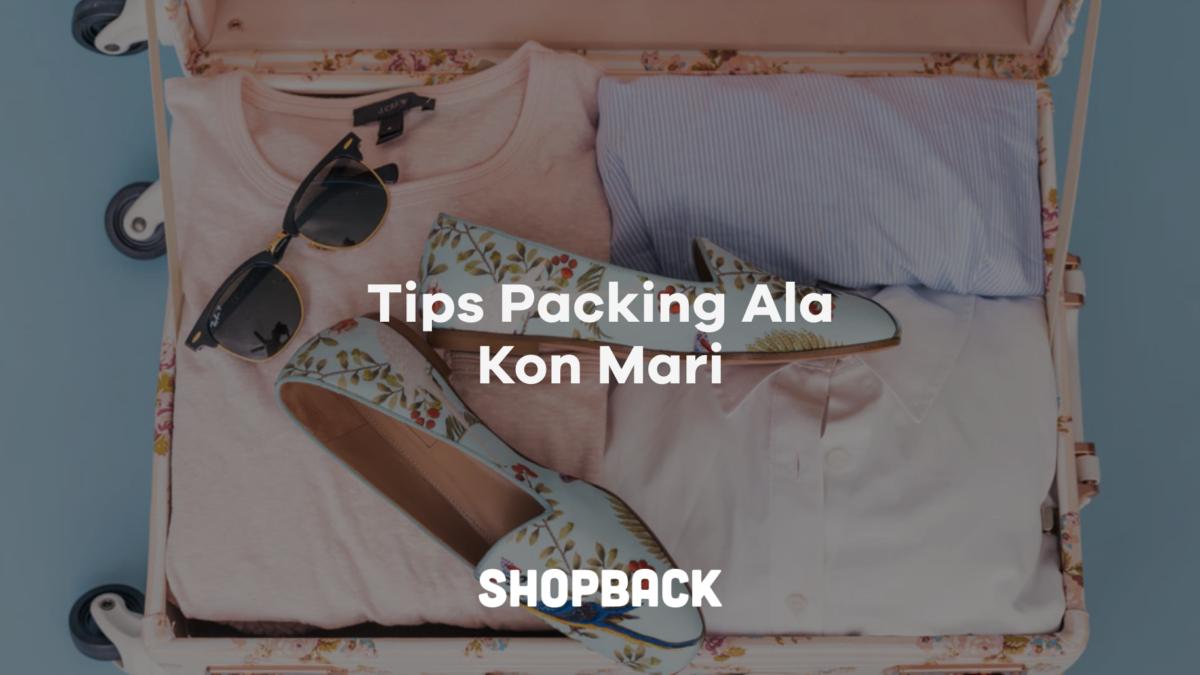 10 Tips dan Cara Packing Barang di Koper Ala Marie Kondo