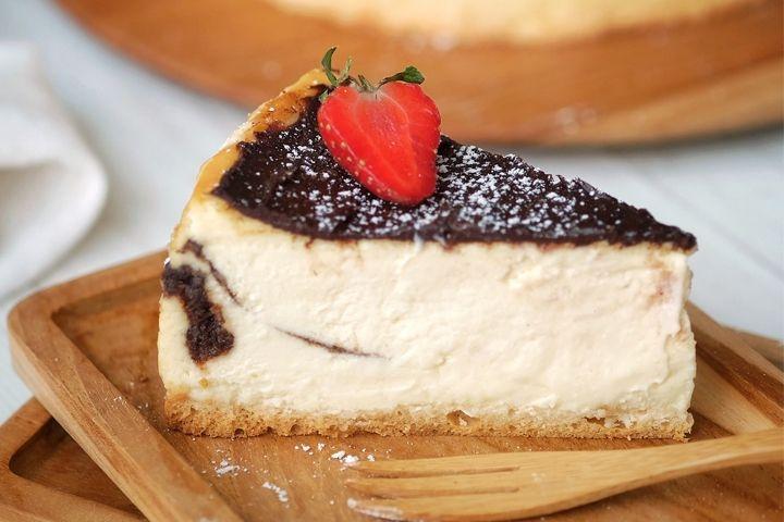 chocomaltine cheesecake the harvest