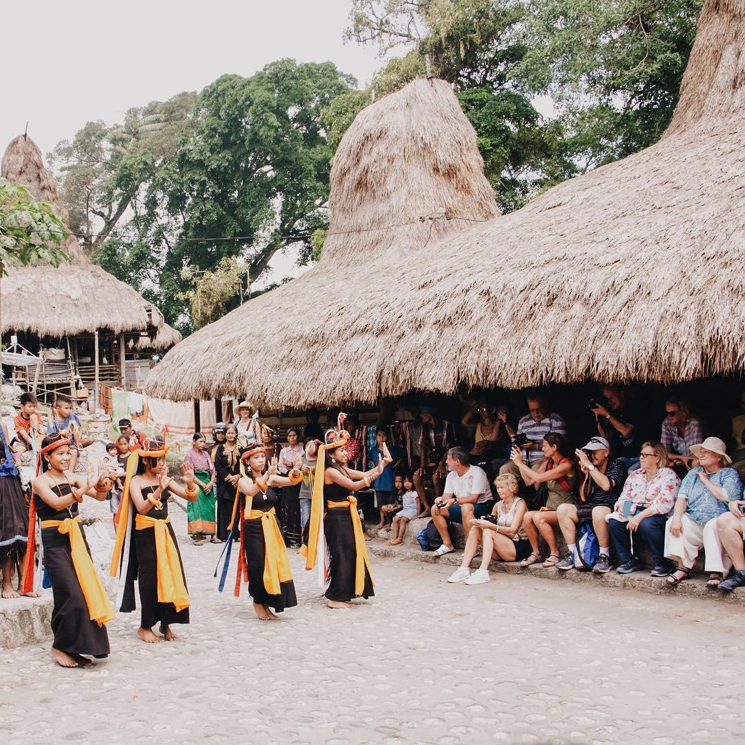 Desa Kampung Tarung sumba