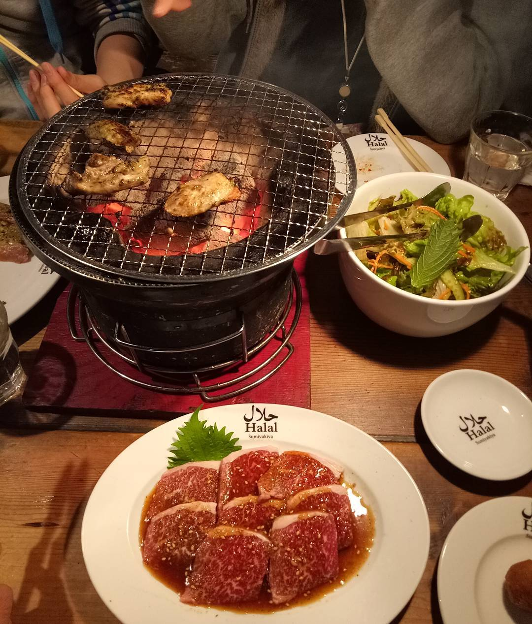 Sumiyakiya restoran halal di roponggi jepang