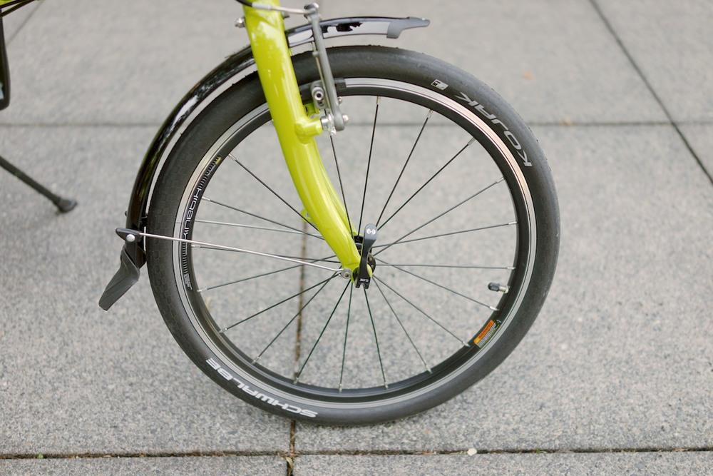 roda sepeda lipat