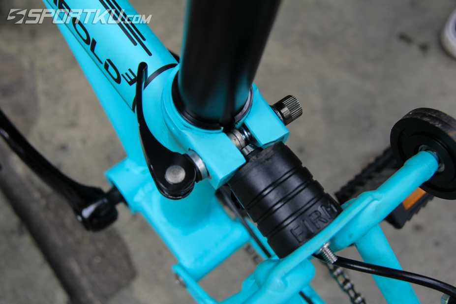 komponen sepeda lipat