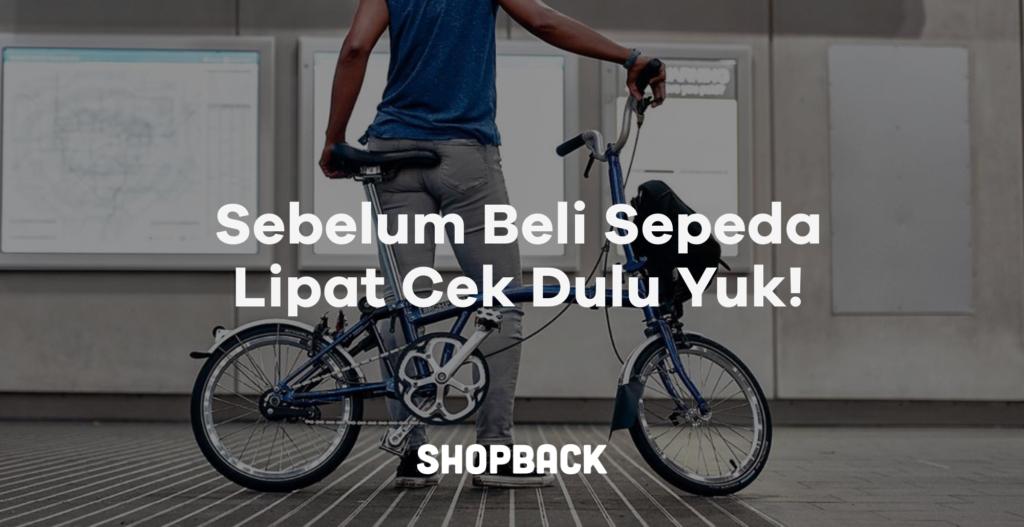 cara memilih sepeda lipat