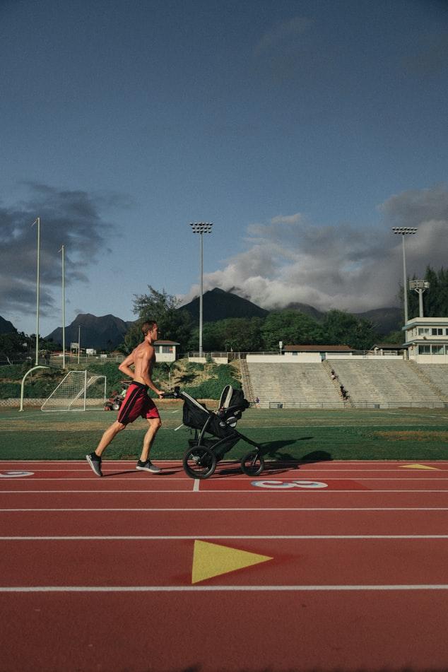 stroller bayi untuk olahraga