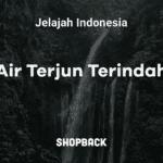 wisata air terjun di indonesia