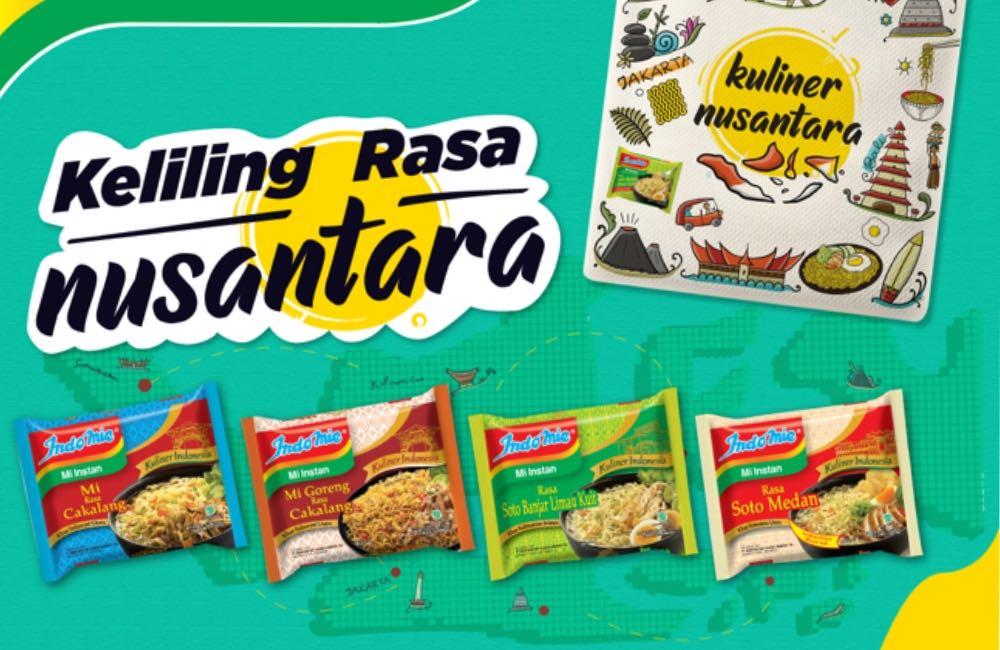 Terinspirasi Kuliner Nusantara, Kamu Sudah Coba Indomie Yang Mana?