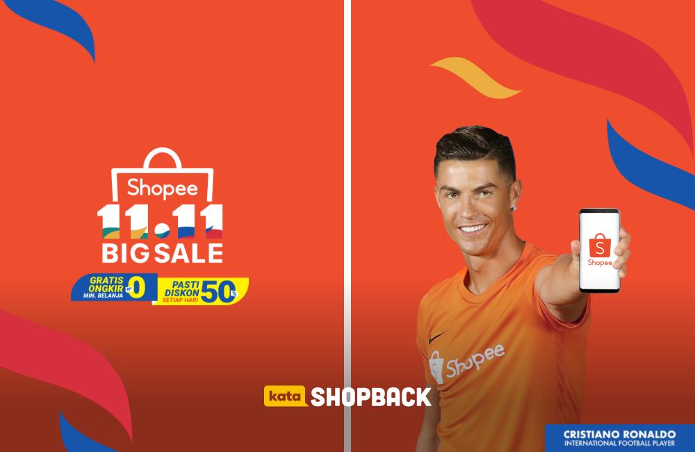 Belanja di Shopee 11.11 Makin Hemat via ShopBack!