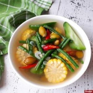 Sayur asem khas Jawa Tengah