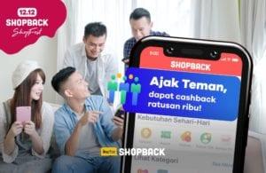 ajak teman pakai ShopBack