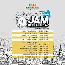 Jam operasional Jatim Park 3