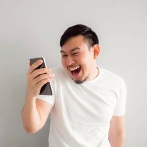 Melalui SMS