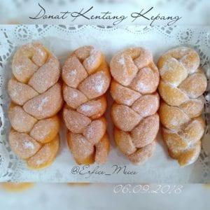 resep donat kentang kepang
