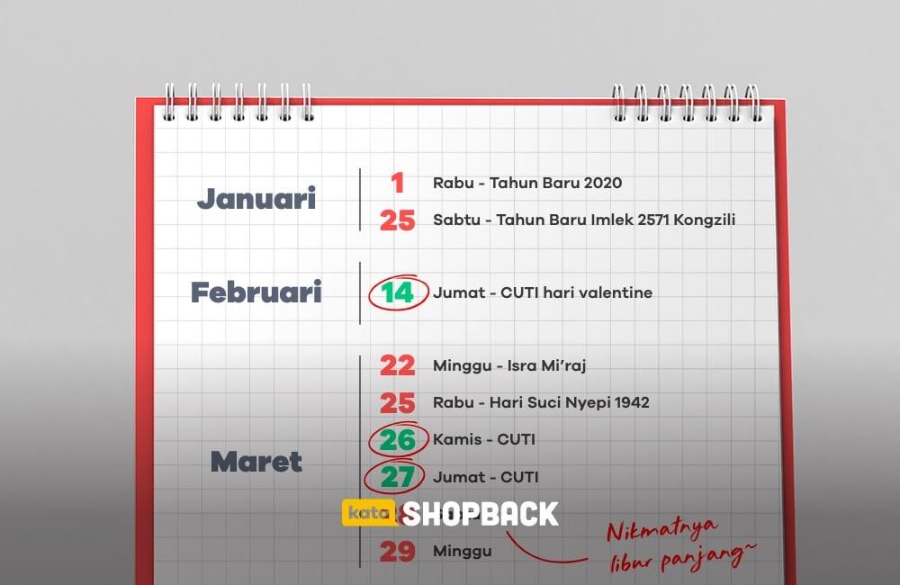 kalender libur nasional 2020