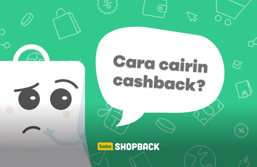 cara mencairkan saldo cashback