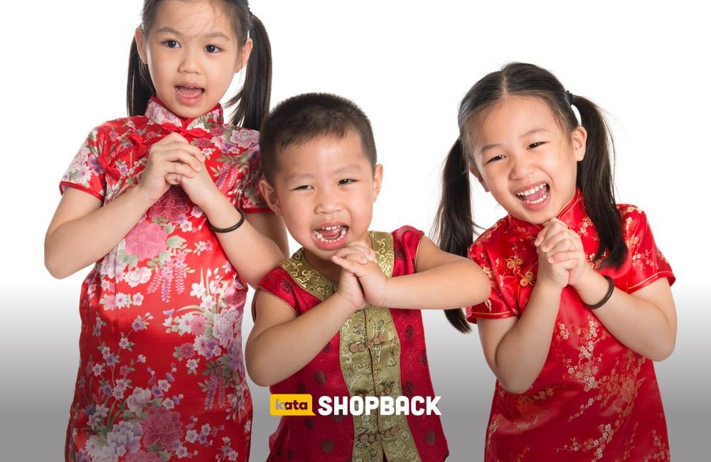baju imlek anak