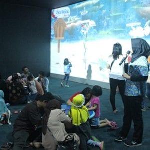 Film edukasi kehidupan laut