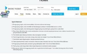 Beli tiket secara online biar nggak repot