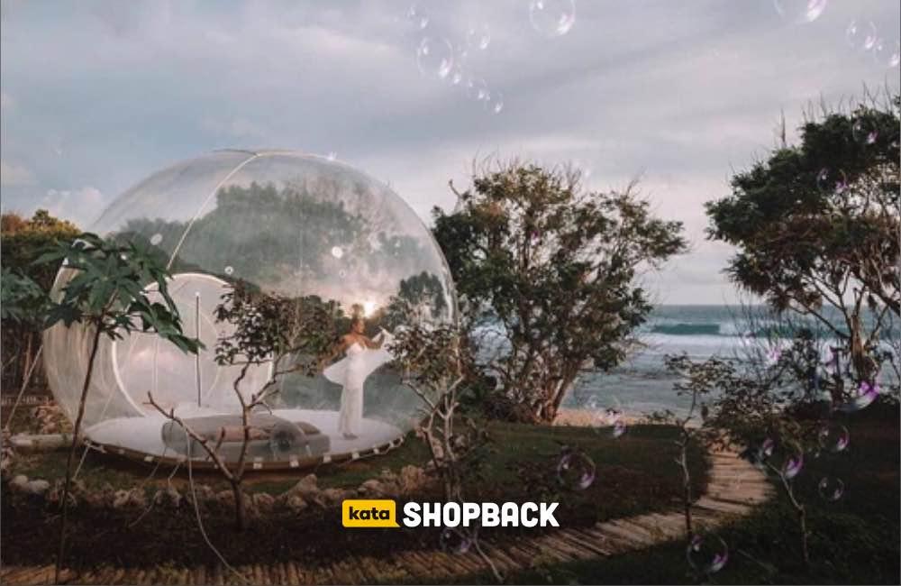 Bubble Hotel Bali: Menginap dalam Gelembung Transparan di Tengah Alam